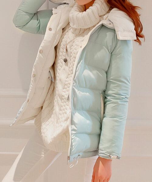 чистка женской куртки утепленной на синтепоне