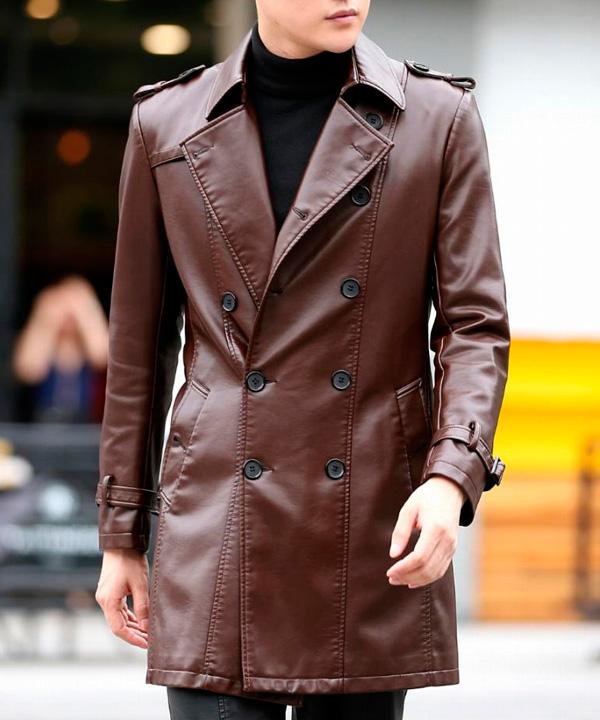 Химчистка кожаного пальто до 100 см