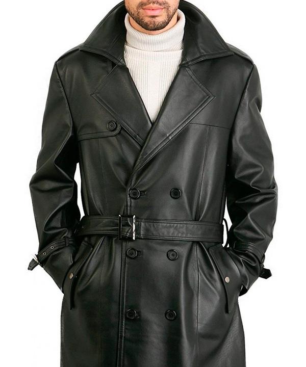 Химчистка мужского кожаного пальто