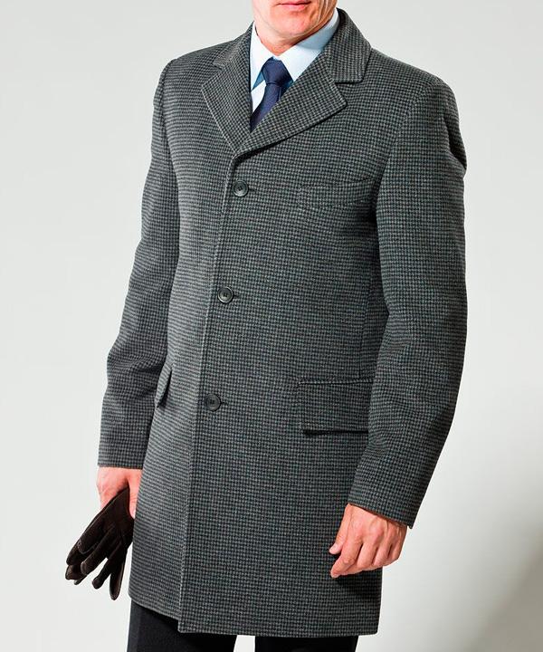 Химчистка мужского демисезонного пальто