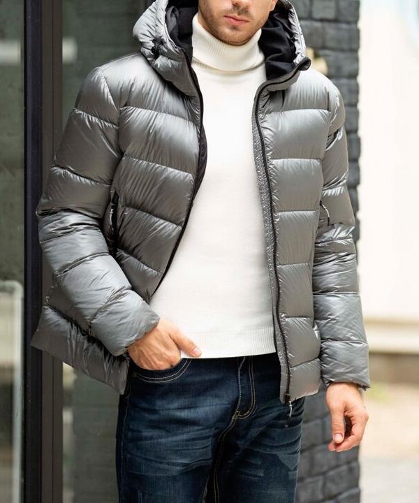 Химчистка мужской утепленной куртки