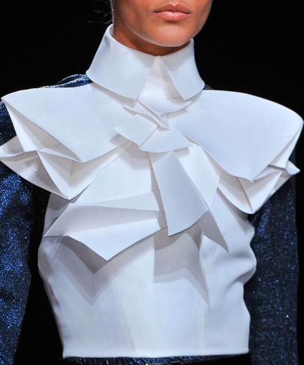Химчистка сложной блузки