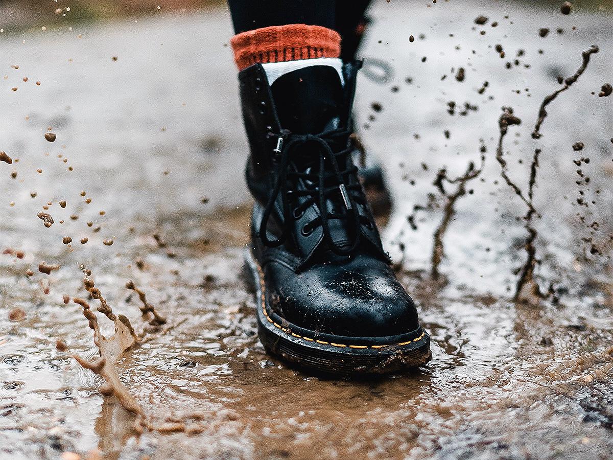 чистка обуви из нубука